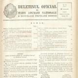Buletinul Oficial al Marii Adunari Nationale a R.P.R. nr.2/1957 - Carte de aventura