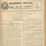 Buletinul Oficial al Marii Adunari Nationale a R.P.R. nr.12/1955 - Carte de aventura
