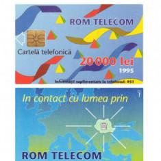 CARTELA ROMANIA 20.000 LEI 1995 3 – PENTRU COLECTIONARI ** - Cartela telefonica romaneasca
