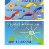 CARTELA ROMANIA 20.000 LEI 1995 1 – PENTRU COLECTIONARI **