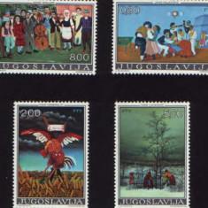 Jugoslavia-Pictura - Timbre straine