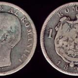 * Moneda 1 leu 1894 - Moneda Romania