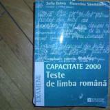 F.Sanmihaian;S.Dobra -Teste de lb. romana.CAPACITATE 2000