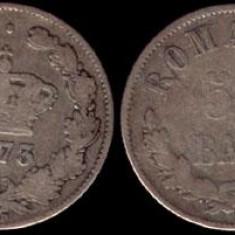 * Moneda 50 bani 1873 - Moneda Romania