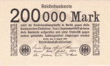 Germania 200.000 Mark 1923 UNC