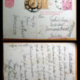 1923 CP Circulata intre Romania Mare si Germania francata 2 lei