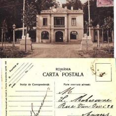 Craiova - Parcul Bibescu.Terasa florilor