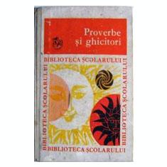 Proverbe si ghicitori - Carte cu ghicitori pentru copii