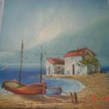 Ulei pe panza superb pictat semnat Prus