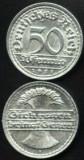 Germania 50 Pfennig 1921 F  XF/a.UNC