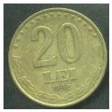 Romania 20 LEI 1992 - Moneda Romania