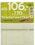 CARTELA  TELEFON PUBLIC AUSTRIA - PENTRU COLECTIONARI **
