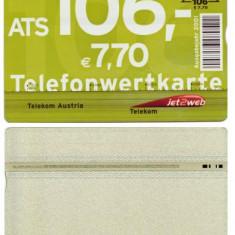 CARTELA TELEFON PUBLIC AUSTRIA - PENTRU COLECTIONARI ** - Cartela telefonica straina