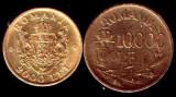 * Lot 2 monede 2000 lei 1946 si 10000 lei 1947