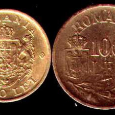 * Lot 2 monede 2000 lei 1946 si 10000 lei 1947 - Moneda Romania