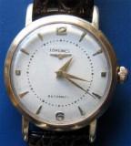 * Ceas LONGINES 1952 automatic - gold filled  80 microni, Elegant, Mecanic-Automatic, Placat cu aur