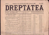 * Ziarul DREPTATEA   1894 - 1895 Timisoara