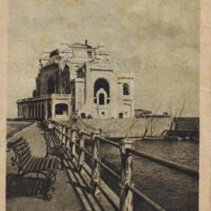 Constanta, Cazino circulat - Carte Postala Dobrogea dupa 1918
