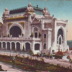 Constanta, Cazino circulat 1927 - Carte Postala Dobrogea dupa 1918