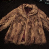 Blana vulpe naturala - haina de blana