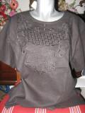 Bluza dama vara, Maneca scurta, Universala, Panza