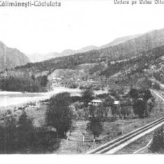 carte postala 02-Baile Calimanesti-Caciulata-1932