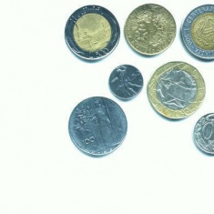 Minicolectie de monede ITALIA(94 bucati)