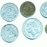 Minicolectie de monede FRANTA(138 bucati)