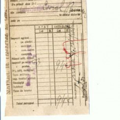 Doc.77 -Chitanta Administratia Financiara -1927