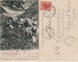 Salutari din Romania - Jepi ( Busteni )-  Muntii Bucegi, clasica, rara, Circulata, Printata