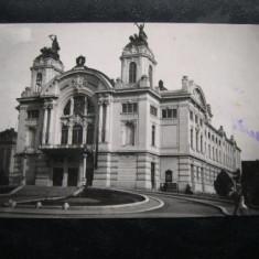 Cluj, Kolozsvar - Opera Romana, * circulata 1929 - Carte Postala Transilvania dupa 1918
