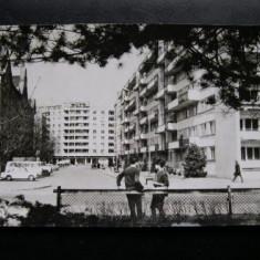 Timisoara - Vedere (masini de epoca) * R.P.R. - Carte Postala Banat dupa 1918