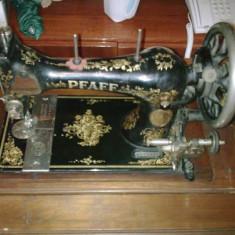 Masina de cusut PFAFF, 1912 opera de arta!!!