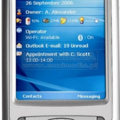 VAND HP IPAQ rw 6815 SAU SCHIMB CU MINILAPTOP 10, 5 inch - PDA HP, Touchscreen si taste, Culori display: 256000, 352 x 416 pixeli, Argintiu, 3-5 megapixeli