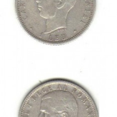 Bnk mnd romania 1 leu 1906 argint - Moneda Romania
