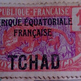 Timbru TCHAD 1924-1933