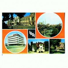 CP151-37 Iasi -circulata 1979 - Carte Postala Moldova dupa 1918