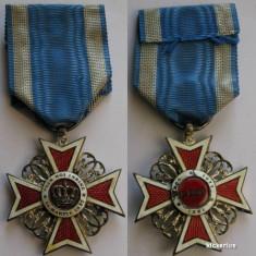 """Ordinul """"Coroana Romaniei"""" cavaler - model 1"""
