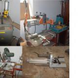 VAND / SCHIMB linie productie tamplarie PVC cu geam termopan