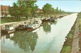 R1996 Timisoara Vaporase pe Bega circulat timbru dezlipit