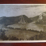 Carte postala Dunarea la Cazane, 1950