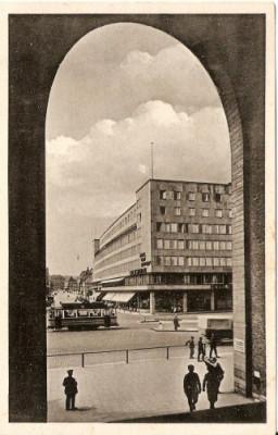 3020 Fabrica de zepeline din Stuttgard necirculat interbelic foto