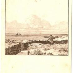 GRAVURA FRONT WW2--1 - Fotografie veche