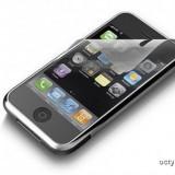 FOLIE iPHONE 3G - iPHONE 3GS - CEA MAI REZISTENTA FOLIE ECRAN iPHONE 3G - CEL MAI NOU MODEL - SPECIAL ECRAN CAPACITIV - Folie de protectie Apple