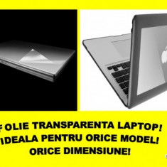 Folie LAPTOP TRANSPARENTA-TOSHIBA, VAIO, DELL, APPLE, ACER - Folie de protectie ecran laptop
