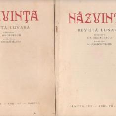 Revista NAZUINTA (Craiova) - 5 volume din  1928-1929