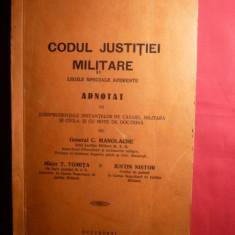 CODUL JUSTITIEI MILITARE - 1936