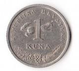 CROATIA 1 KUNA 1995
