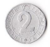 AUSTRIA 2 GROSCHEN 1955