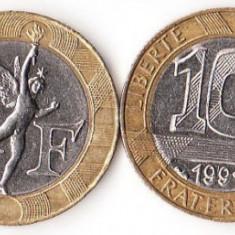 FRANTA 10 FRANCI 1991